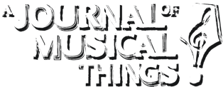 Alan Cross' A Journal of Musical Things