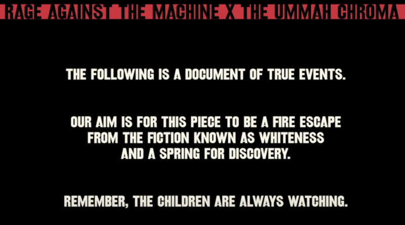 Rage Against the Machine releases a short doc on race called Killing in Thy  Name - Alan Cross' A Journal of Musical Things