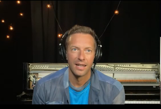 chris martin coldplay new single